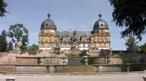 Schloss Seehof In Memmelsdorf Bei Bamberg